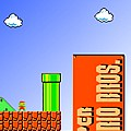 "Click here to play the Flash game ""Super Mario Brothers: New Super Mario Bros."""